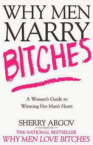 image of book cover why men marry bitches