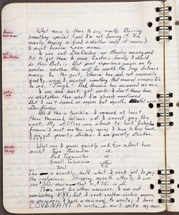 Commonplace Books of Sci-Fi Novelist Octavia E. Butler