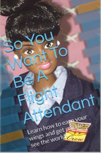 photo of a book cover So You Want to Be a Flight Attendant