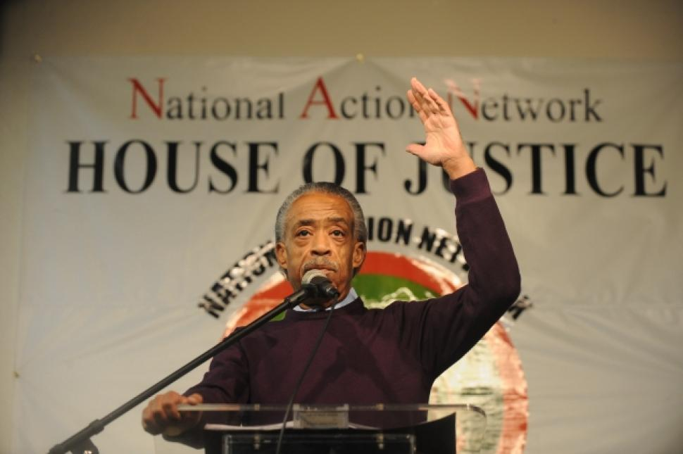 photo of reverend al sharpton at NAN