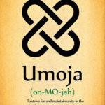 image of Umoja Kwanzaa poster