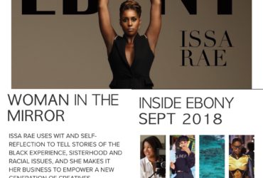 photo compilation of ebony cover, toc and article synposis