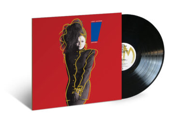 image of Janet Jackson Control Album cover and vinyl