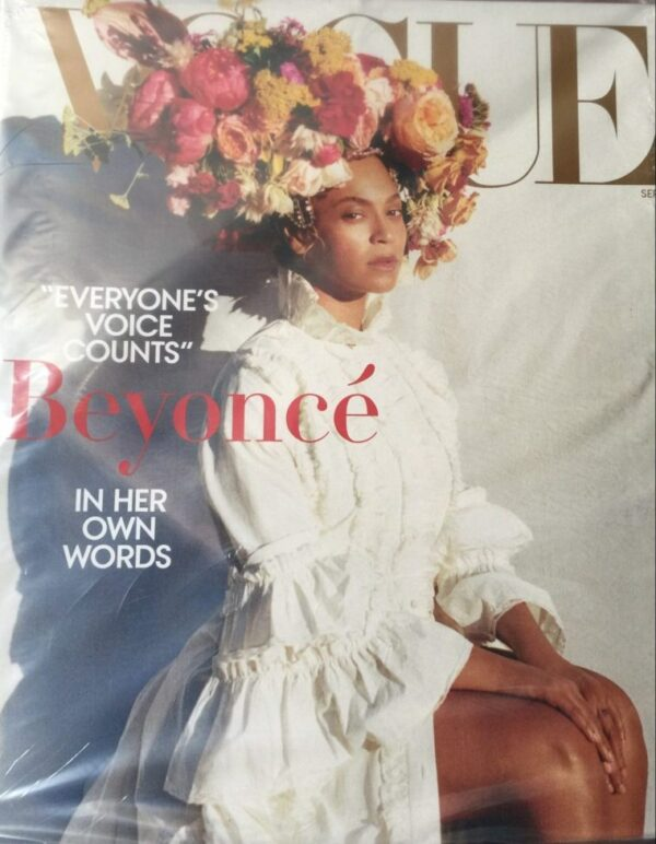 image of vogue cover featuring beyonce