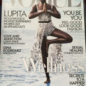 Image of Vogue Cover featuring Lupita Nyong'o