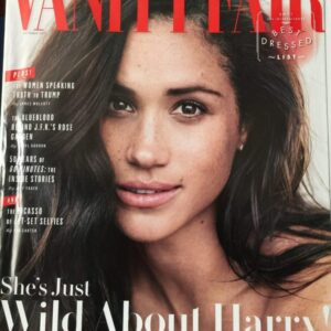image of vanity fair cover featuring Serena Williams